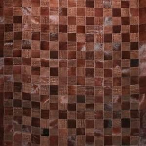Tapis Cuir Patchwork : tapis patchwork vintage et tapis cuir en 50 id es tendance ~ Teatrodelosmanantiales.com Idées de Décoration