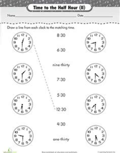 1000 images about time on worksheets paper