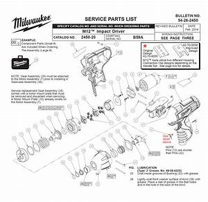 Buy Milwaukee 2450 4 U0026quot  Impact