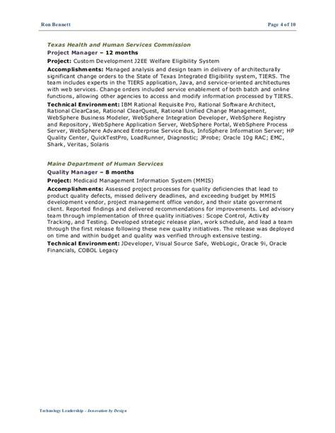 Resume Ca Java Server Framework by Resume