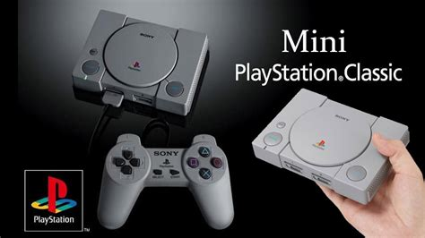 La Mini Playstation 1 De Sony Arrive En Decembre Youtube
