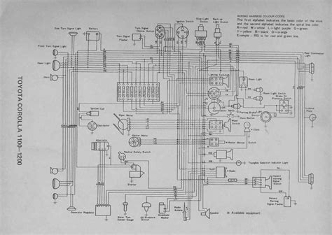 toyota corolla 20 series 1100 1200 electrical wiring diagram all about wiring diagrams