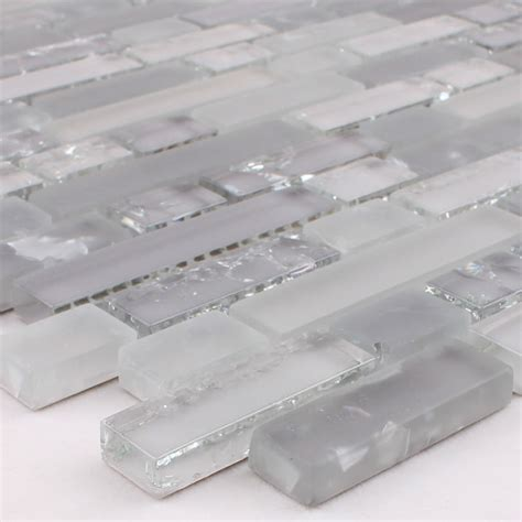 Glass Backsplash Tile Cheap glass mosaic stickers kitchen backsplash