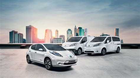 car range electric cars vans nissan