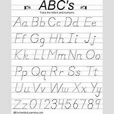 Alphabet Printables (d'nealian)  Readingphonics  Pinterest  My Children, Homework And Dry
