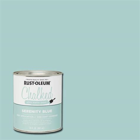 interior paint colors home depot rust oleum 30 oz serenity blue ultra matte interior