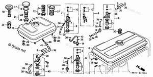 Honda Small Engine Parts G150 Oem Parts Diagram For Fuel