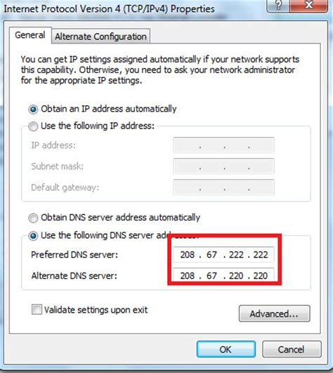 Best Open Dns Server by What Is Opendns Use Opendns Ip To Speed Up Web Browsing