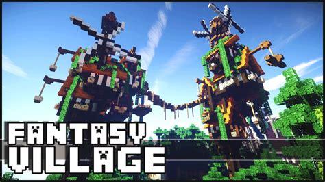 Minecraft Boat Town by Minecraft Fantasy Village Youtube