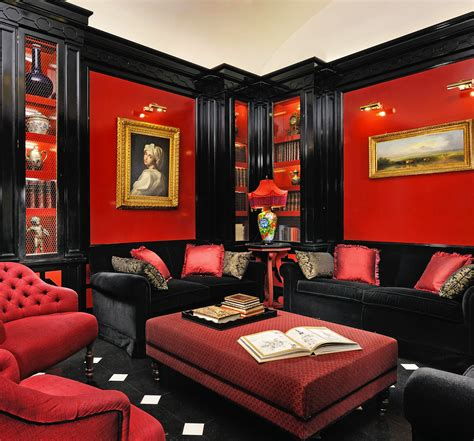 lounge  style rome love  red awesome furnished