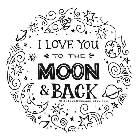 I You To The Moon And Back Kleurplaat i you to the moon and back coloring pages coloring pages