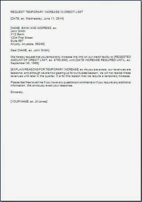 request letter  bank  temporary overdraft citehrblog