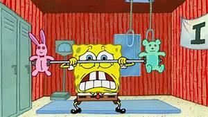Lifting Weights GIF by SpongeBob SquarePants - Find ...