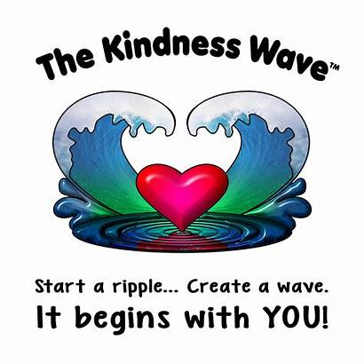 Kindness Week Background Wave Contagious Random Acts