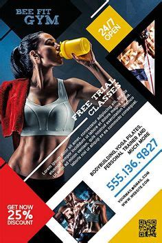 personal trainer flyer images fitness flyer