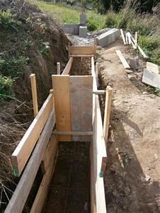 Fondation Mur Parpaing : fondation mur de cloture avant de reprendre le mur de ~ Premium-room.com Idées de Décoration