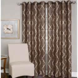 elrene medalia grommet top curtain panel for the home