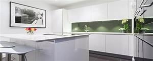 Handleless kitchens from LWK Kitchens