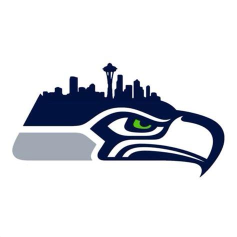 seahawks skyline logo seattle seahawks pinterest