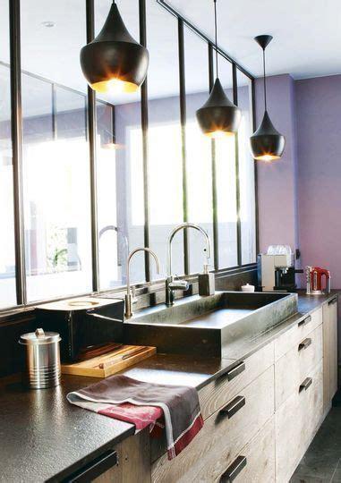 cuisine melange ancien moderne cuisine moderne et pratique 20 bonnes idées bois metal