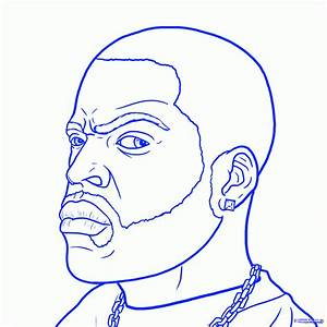 How To Draw Ice Cube, Ice Cube, Step by Step, Music, Pop ...
