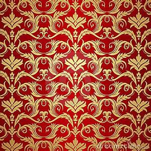 Vintage Gold And Red Background Royalty Free Stock Images ...