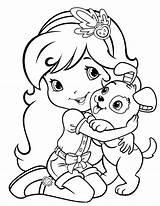 Coloring Shortcake Strawberry Pages Dog Funny Pupcake Kolorowanki Ranch Princess Cartoon Para Dibujos Called Sheets Had Colorear Pintar Colouring Disney sketch template