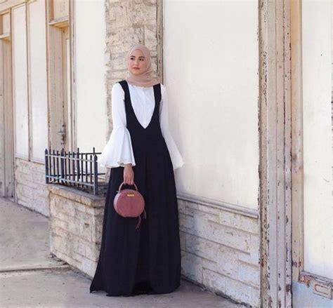 Black And White Outfits with Hijab for Working Ladies u2013 Girls Hijab Style u0026 Hijab Fashion Ideas