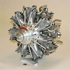 Scale Model Of A Radial Engine