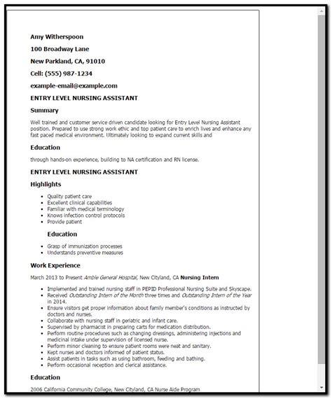 sle cover letter for resume nursing assistant cover