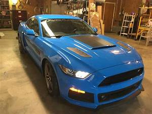 6th gen Grabber Blue 2017 Ford Mustang 6spd manual For Sale - MustangCarPlace