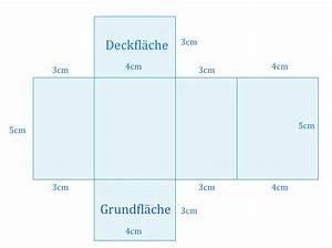Volumen Quader Berechnen : quader netz ~ Themetempest.com Abrechnung