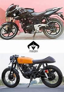 Modified Bajaj Pulsar 180  U0026 39 Black Marlin U0026 39  By Mystik Moto