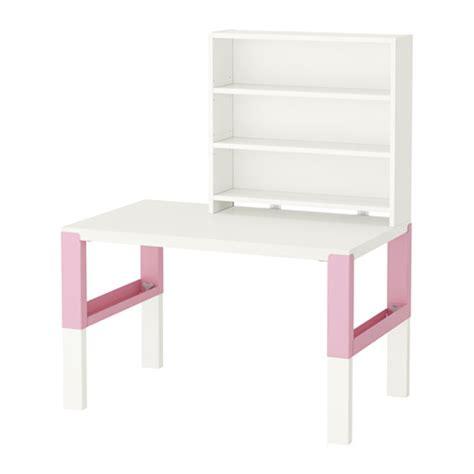 recyclage mobilier bureau påhl bureau avec tablette blanc ikea