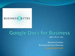google docs for business With google docs for slideshow