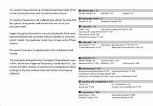 2015 Honda Civic Sedan Owner U2019s Manual  4