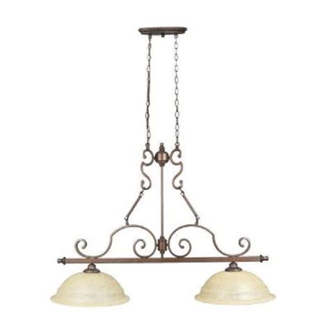 pendant lighting kitchen island home decorators fairview collection 2 light heritage 7406