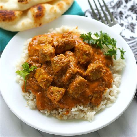 You won't believe how easy it is to make this at home! Chicken Tikka Masala - Simply Sated