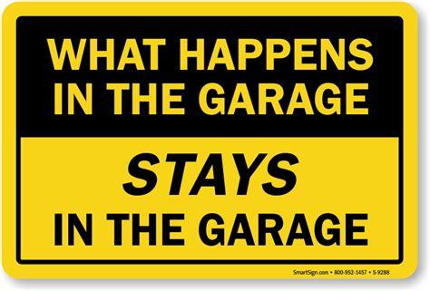 garage stays   garage sign sku