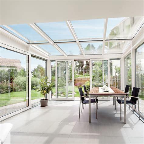 verande finstral finstral finestre pvc alluminio legno verande icos