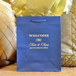 personalized wedding welcome gift bags for oot by With personalized wedding gift bags