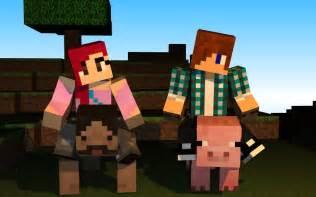 Minecraft Skins Boy and Girl