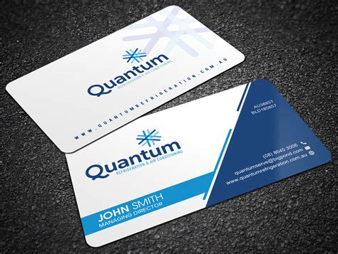 professional air conditioning business card