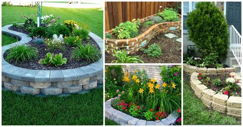 clever tips  building flower beds  budget
