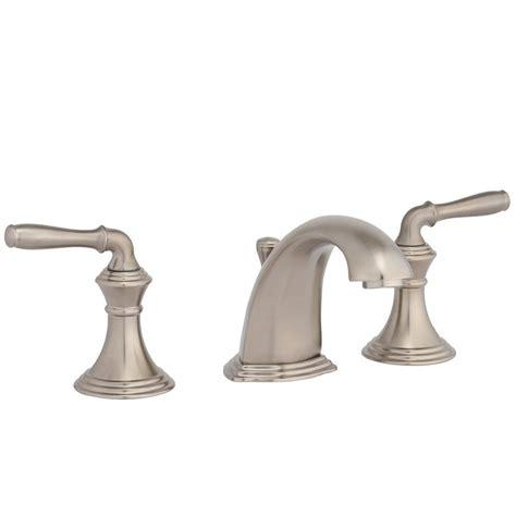 widespread kitchen faucet kohler devonshire 8 in widespread 2 handle low arc