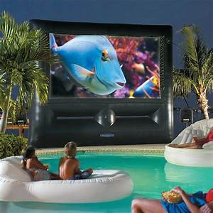Inflatable SuperScreen Outdoor Theater System - Ultimate
