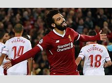 Mo Salah named Champions League Player of the Week
