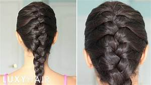 How To: Basic French Braid YouTube