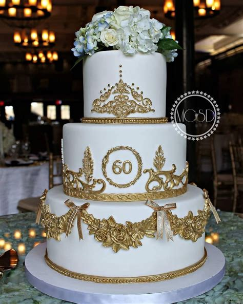 Check spelling or type a new query. Glamorous 60Th Birthday Cake - CakeCentral.com