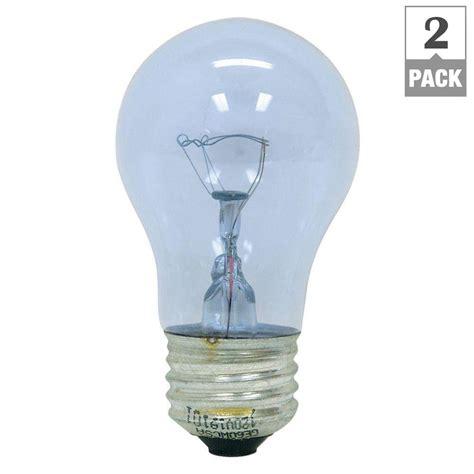 ge reveal 60 watt incandescent a15 ceiling fan clear light